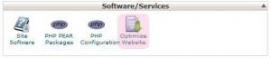 افزایش سرعت لود سایت با قابلیت Optimize Website سی پنل